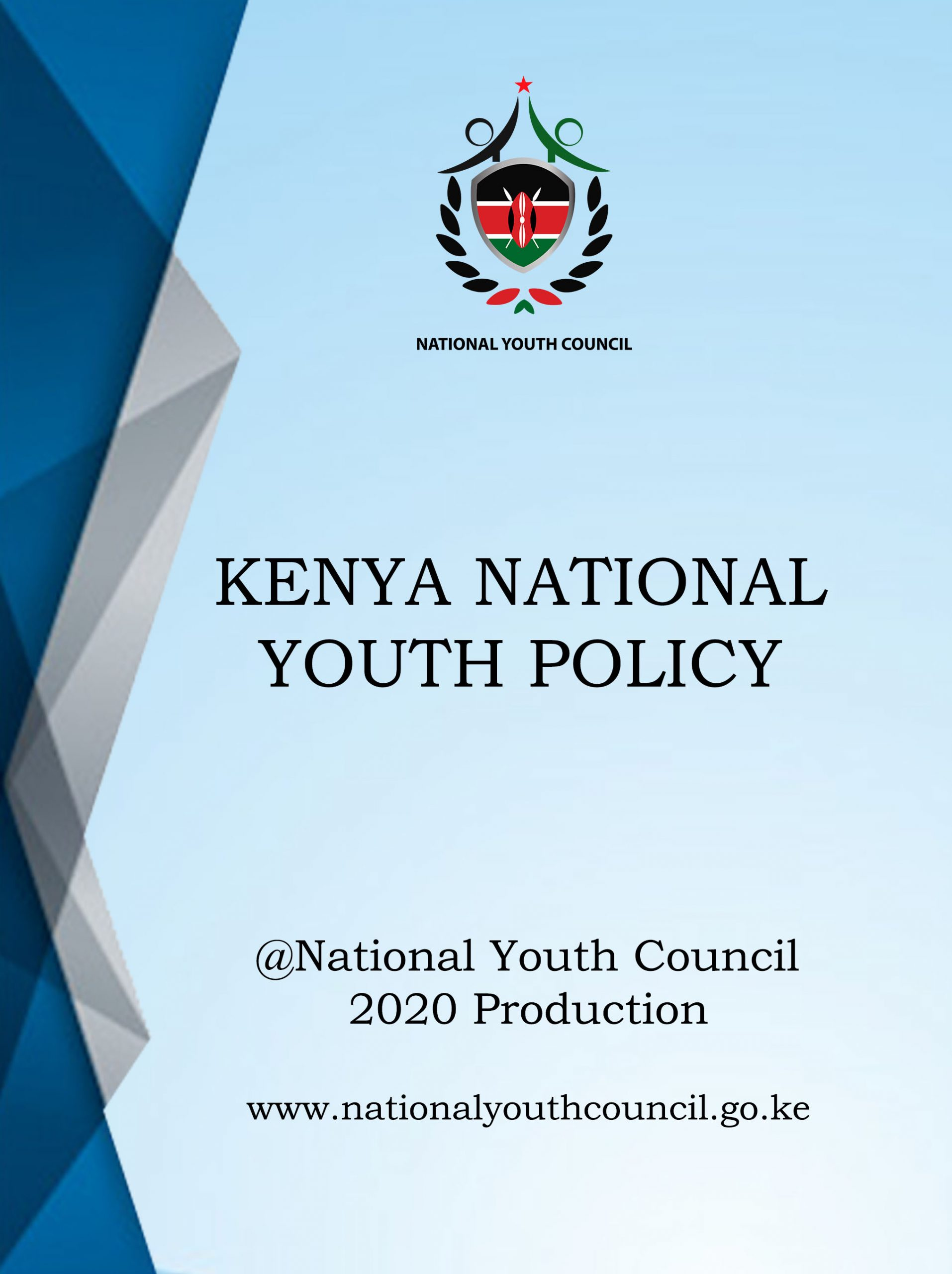KENYA NATIONAL YOUTH POLICY