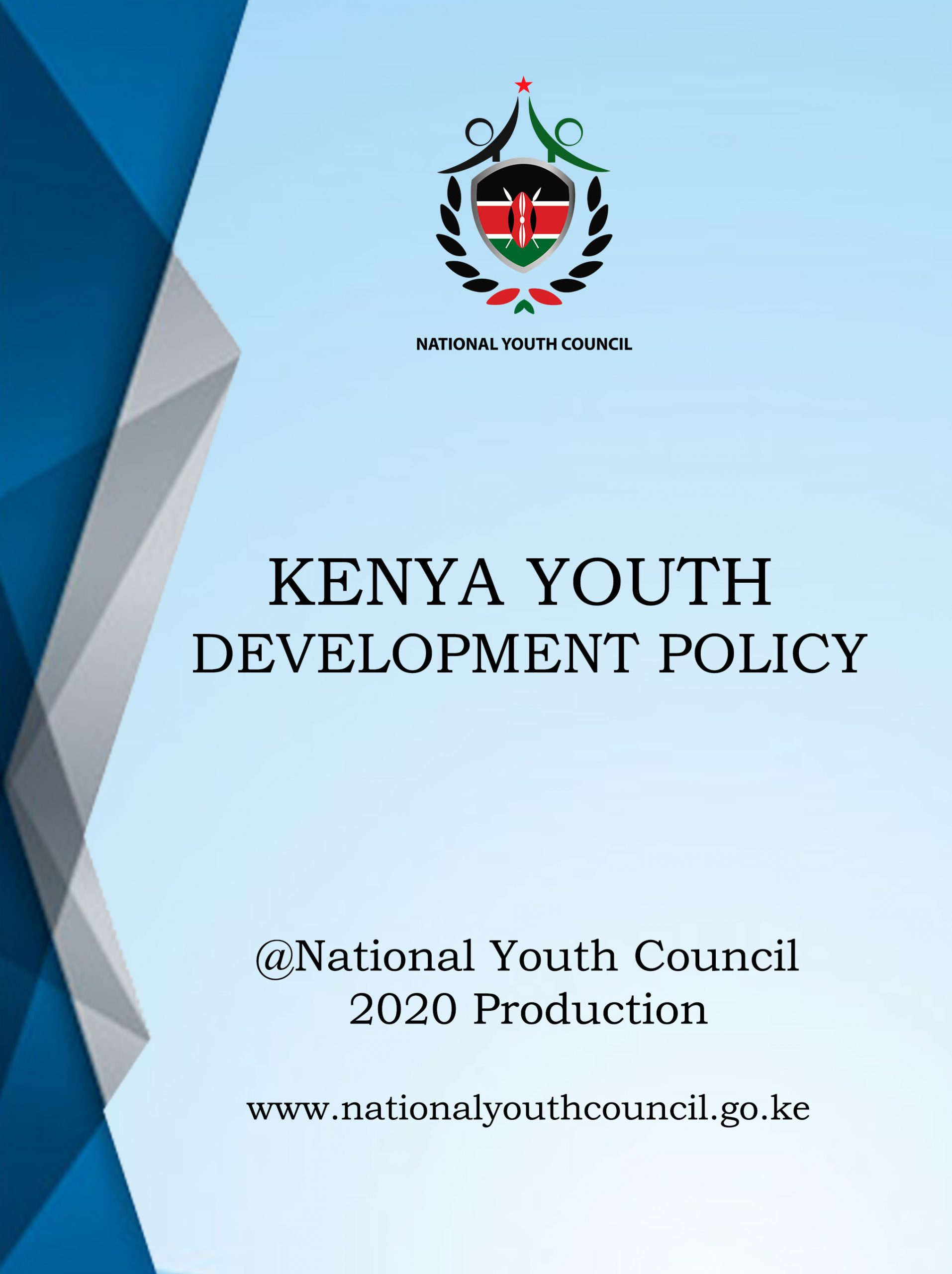 KENYA YOUTH DEVELOPMENT POLICY